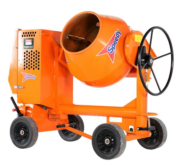 Altrad Belle 100XT Mobile Site Mixer Diesel 335kg