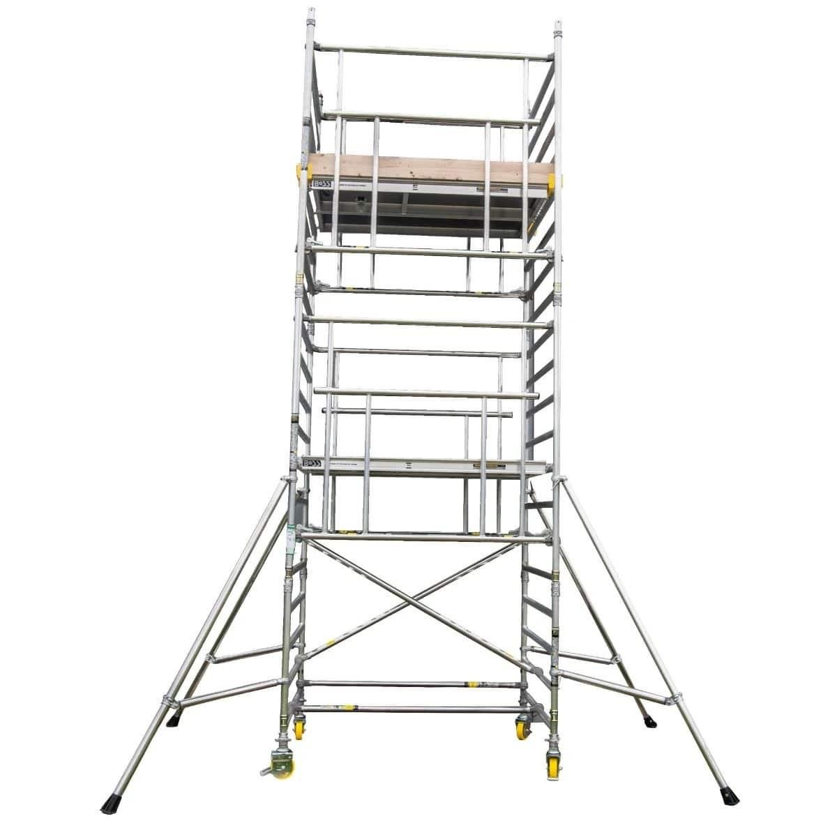 Boss Narrow 1.8m Camlock AGR Tower 9.3m Handrail Height 276Kg