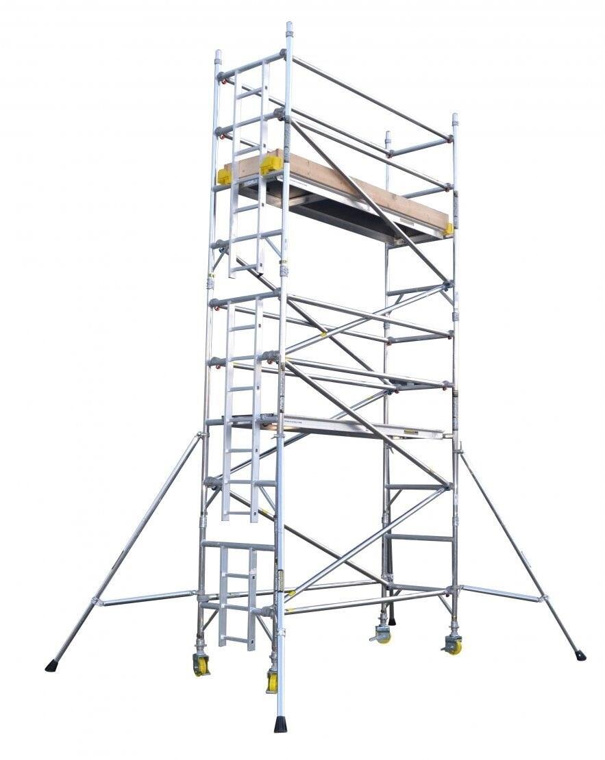 Boss Narrow 1.8m Tower 6.8m Handrail Height 204Kg