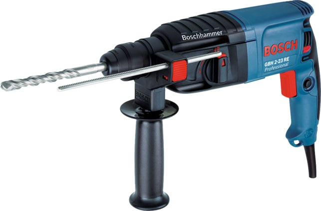 Bosch GBH 2-23 REA SDS+ Rotary Hammer Drill with Dust Extraction Unit 110v 3.6Kg