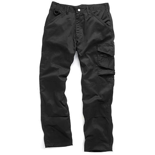 "Scruffs Black Worker Trouser 40"" R"