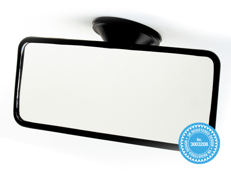 Vehicle Rear View Suction Mirror