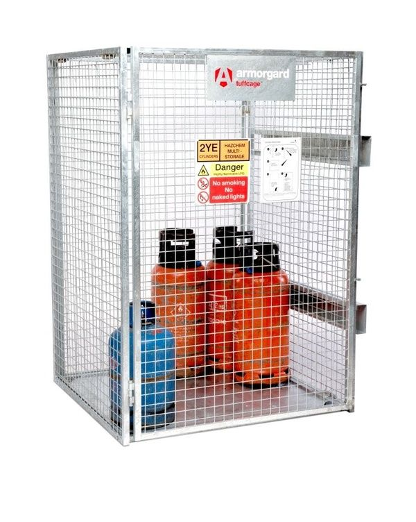 Tuffcage 1.2m x 1.2m  x 1.8m Collapsible Gas Cage