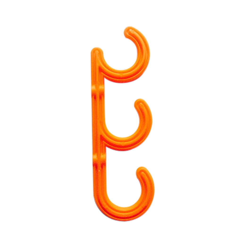 TIDI 3 Wall Mounted Plastic Hook