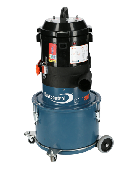 Dust Control DC1800 1-Phase Dust Extractor 110v 14Kg