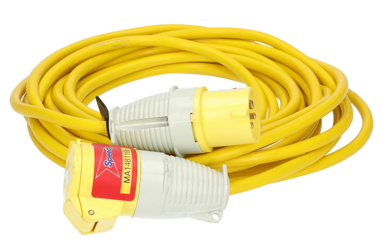 Extension Lead 2.5mm 16a 110v 10m