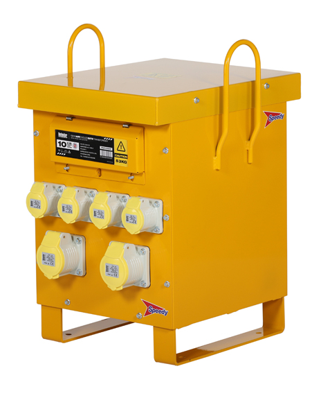 10.0kVA (1 phase) Site Transformer 110v 53kg