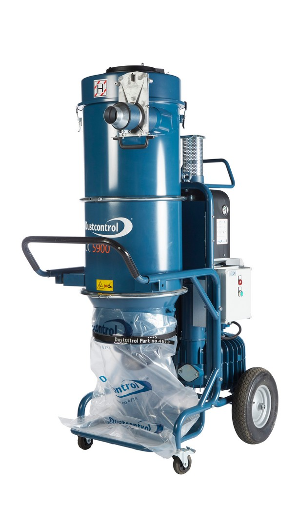 Dust Control DC5900C Mobile Dust Extractor 210Kg