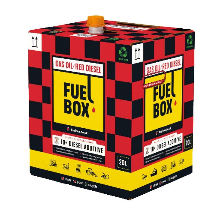 Red Diesel Fuel Box 20l