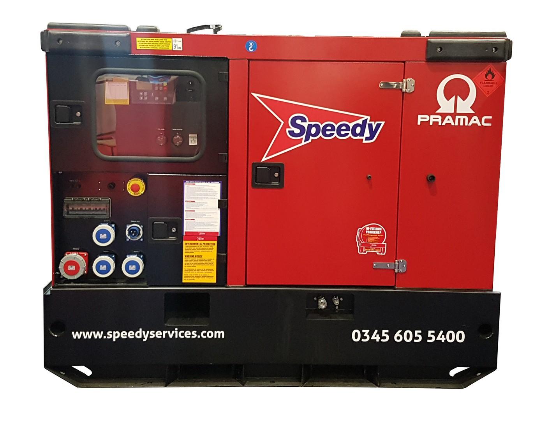 30 Kva Generator 415/3/50 Mwk50hr Rate