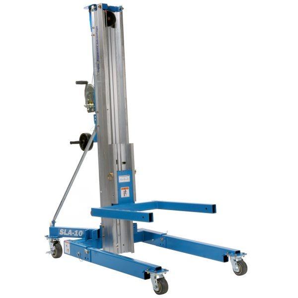 Genie SLA10 Material Lift SWL 454kg HOL 3.49m