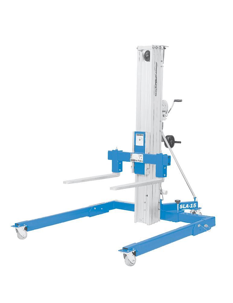 Genie SLA15 Material Lift (Straddle Base) SWL 363kg HOL 4.98m