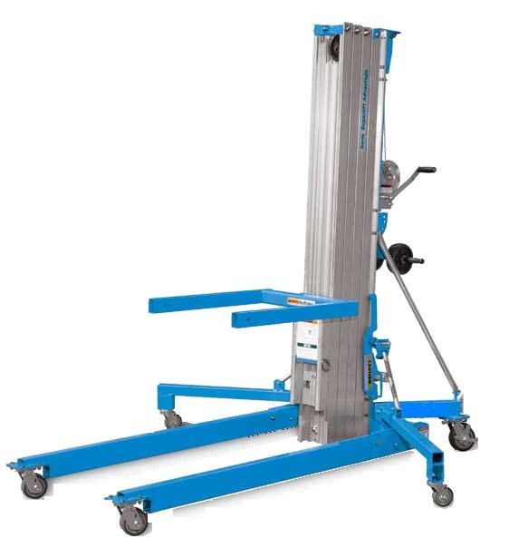 Genie SLA25 Material Lift SWL 295kg HOL 7.94m