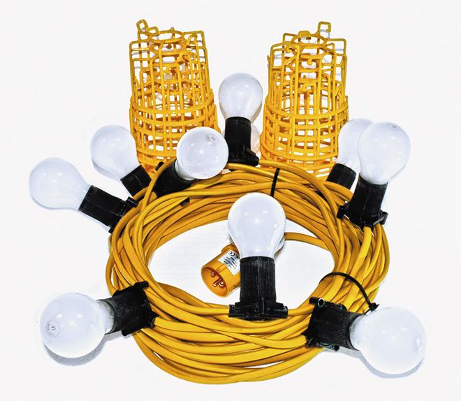 Festoon 22m LED Light Standard 10w 110v 3.5kg
