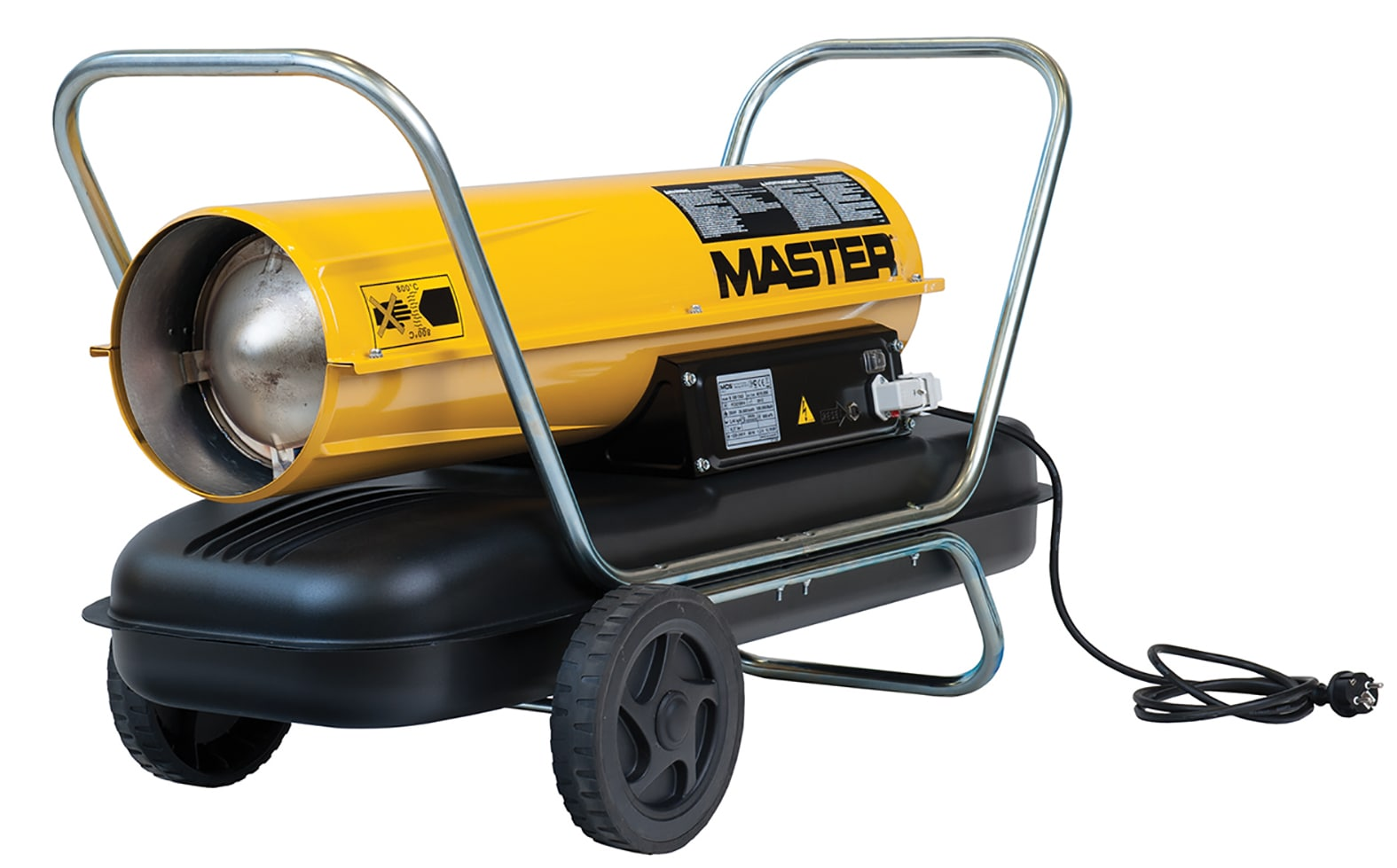 Master B150 44kW Direct Diesel Heater 110v 28Kg
