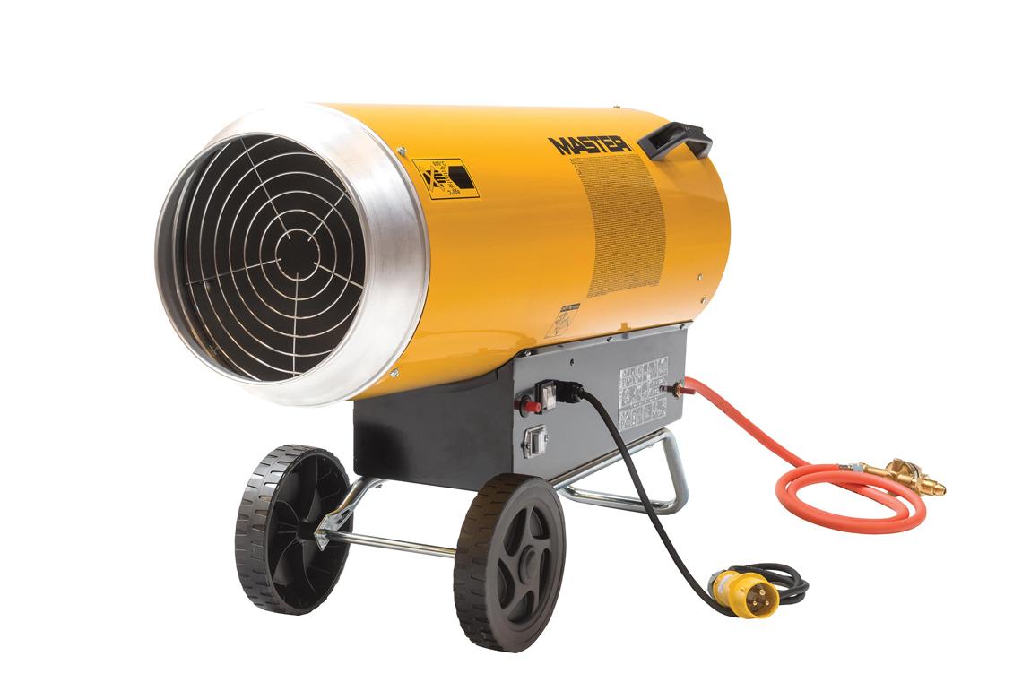 Master BLP103DV Propane Forced Air Heater 110v