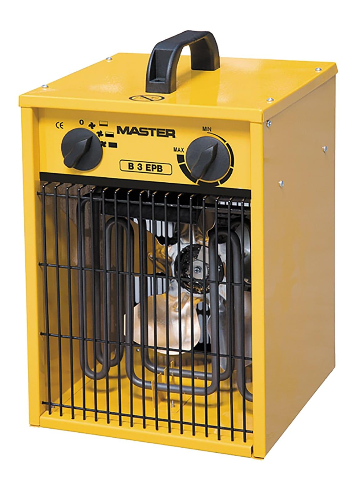 Fan Heater 3kW 240v 5.7Kg