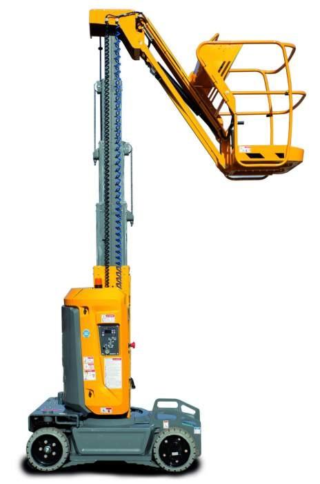 Haulotte Star10 10m Mast Lift 200kgcap C/W 3m Outreach