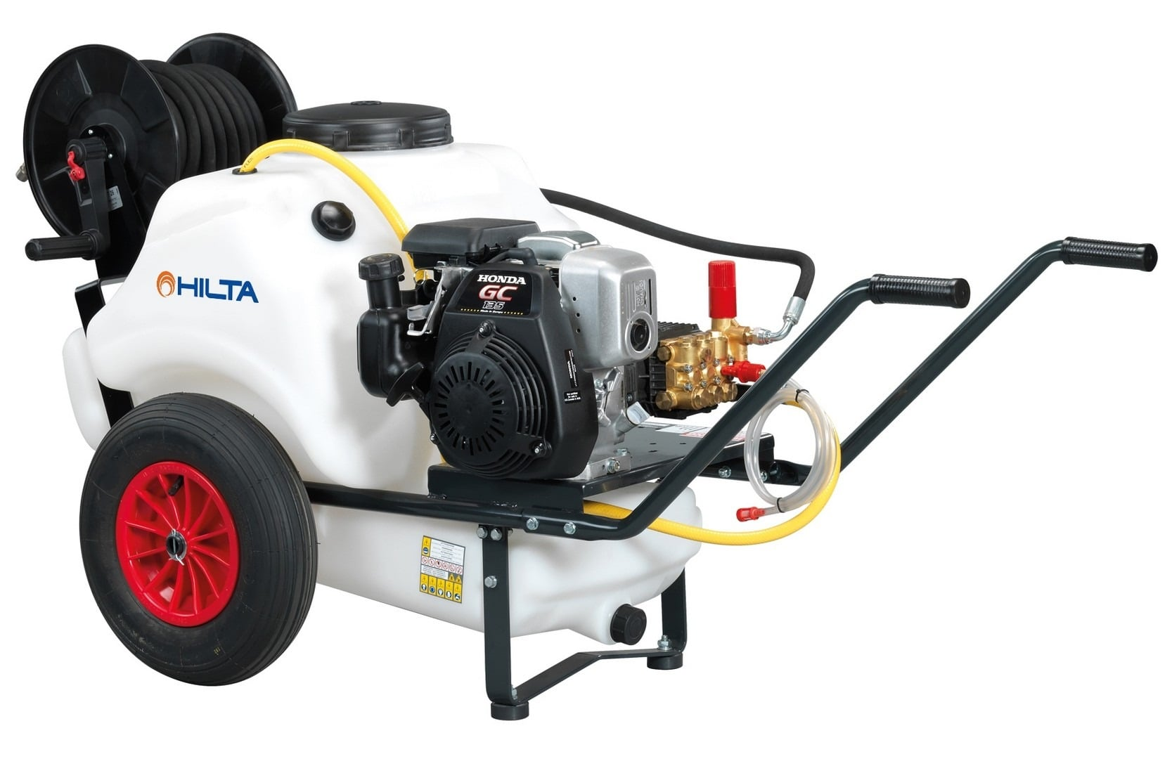 Hilta Prowash 1500P Eco Mini Bowser Washer 125L Petrol