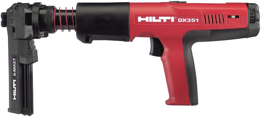 Hilti DX351 MX Powder Actuated Tool 2.44Kg
