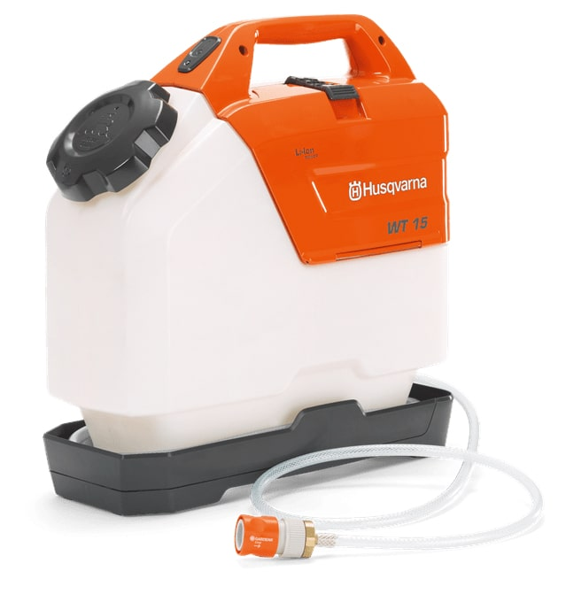 Battery Powered Water Bottle For Cut Off Saw