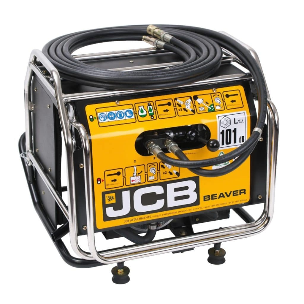 JCB Beaver Hydraulic Power Pack Petrol 66Kg