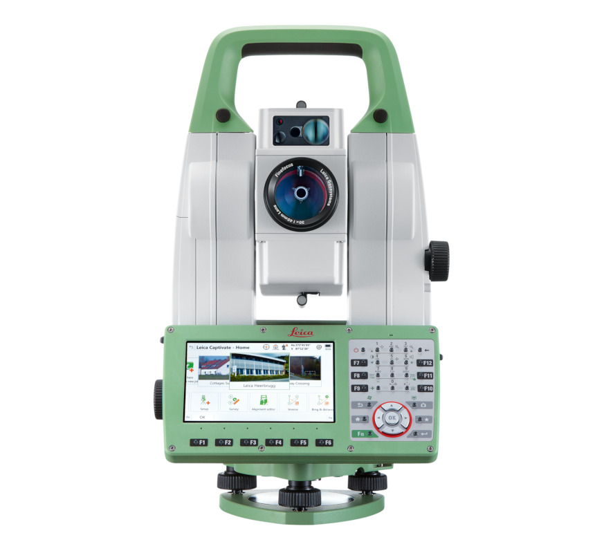 "Leica TS16P 1"" Robotic Total Station 6kg"