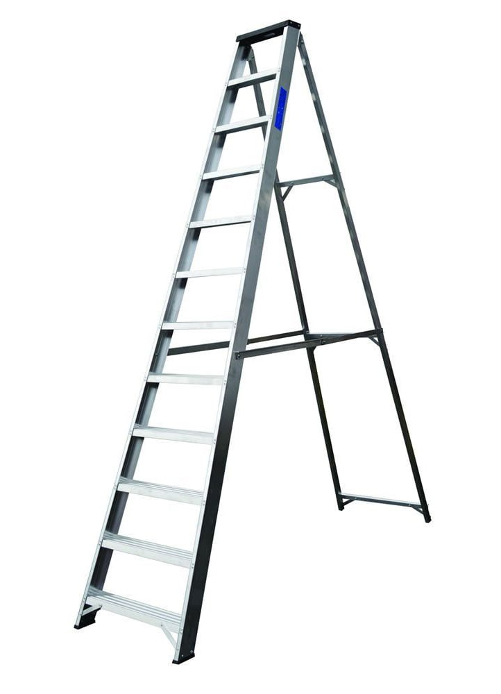 Lyte Ladder NBSBB12 2.8m Industrial Stepladder 11.5Kg