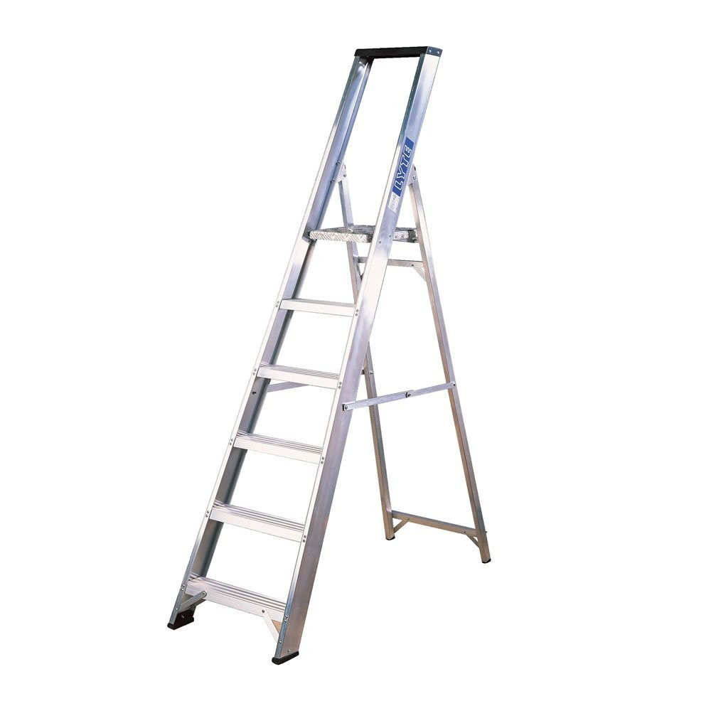 Lyte Ladder NBSBP6 2.08m Platform Steps 6 Tread 8Kg