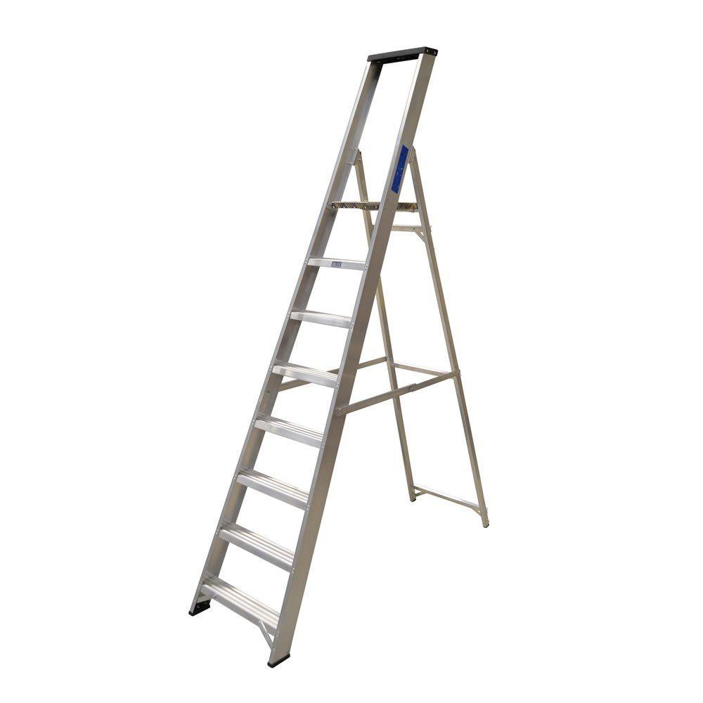 Lyte Ladder NBSBP8 2.5M 8 Tread Step Ladder 9.5Kg