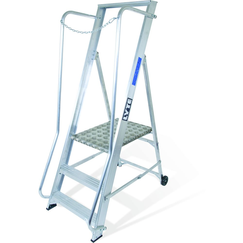 Lyte Ladder NBSWP3 1.78m Wide Platform Step 3 Tread 8Kg