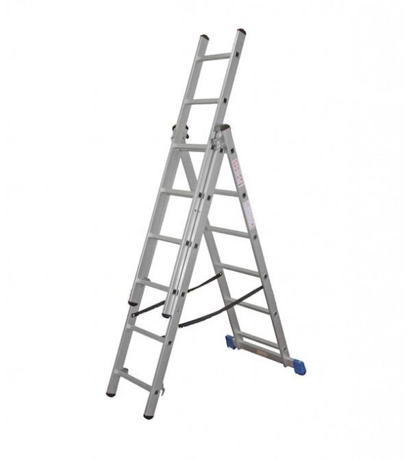 Lyte Ladder NCL7 7 Rung 2m Combination Ladder 10.55Kg