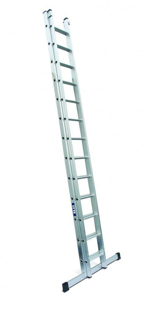 Lyte Ladder NGD245 4.43m 2 Section Extension Ladder 26.2Kg
