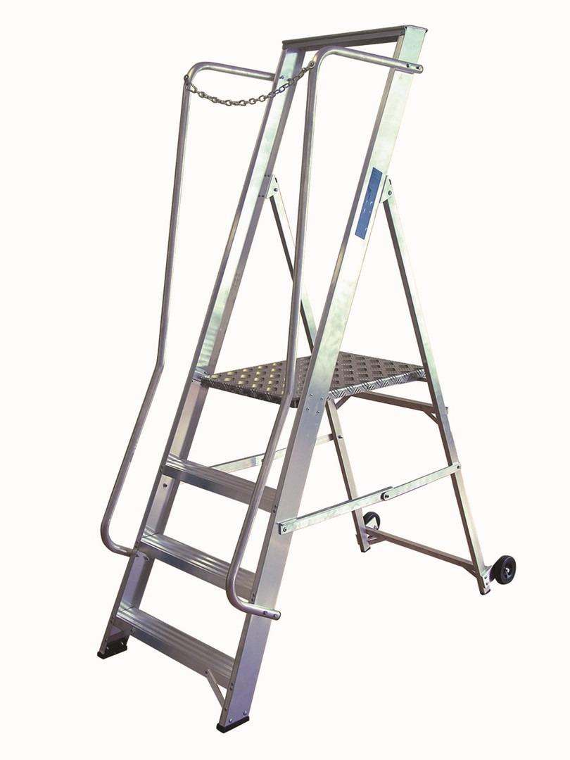 Lyte Ladder NBSWP4 1.98m Platform Step 4 Tread 9Kg