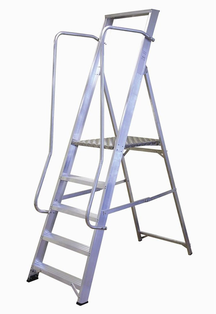 Lyte Ladder NBSWP6 2.49m Wide Step Ladder 6 Tread 11Kg