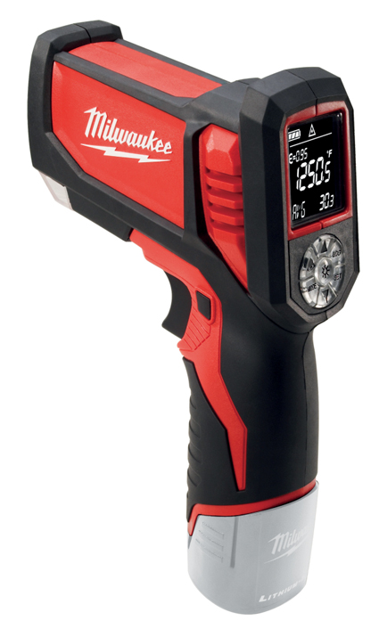 Milwaukee C12 LTGE-O M12 Laser Temperature Gun