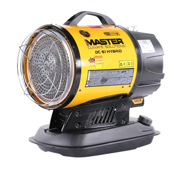 Master XL61 17kW Infrared Diesel Heater 110v 21Kg