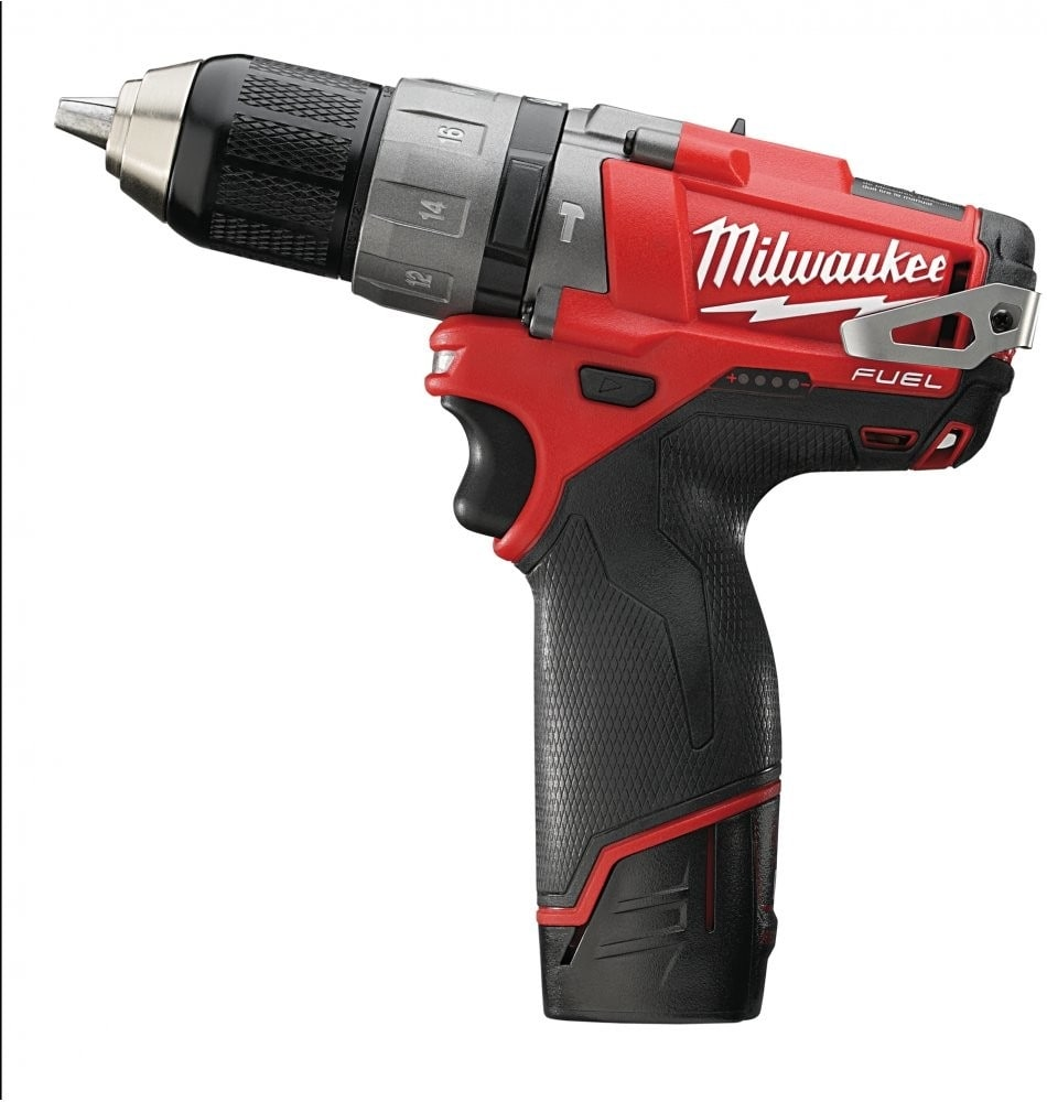 Milwaukee C12PD-202C Percussion Drill 12v 1.3kg