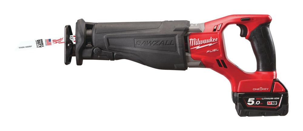 Milwaukee M18 ONESX-502X Reciprocating Saw 18v 4.0Kg