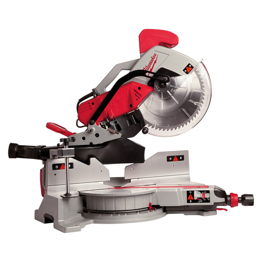 Milwaukee MS305DB 305mm Heavy Duty Double Compound Mitre Saw 110v 29.5Kg