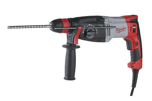 Milwaukee PLH 28 XE L-Shaped Hammer Drill 110v 3.6Kg