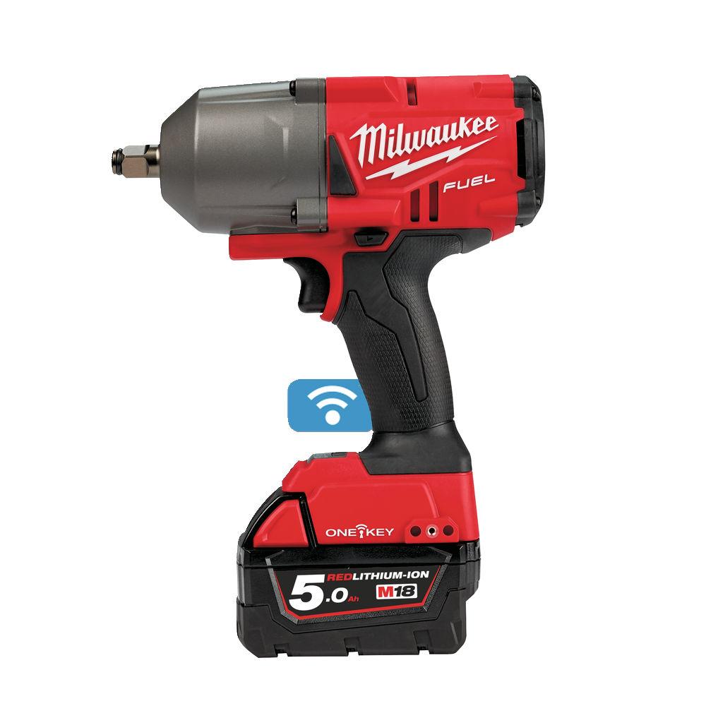 """Milwaukee M18 ONEFHIWF12-502X ½"""" Impact Wrench 18v 3.3Kg"""