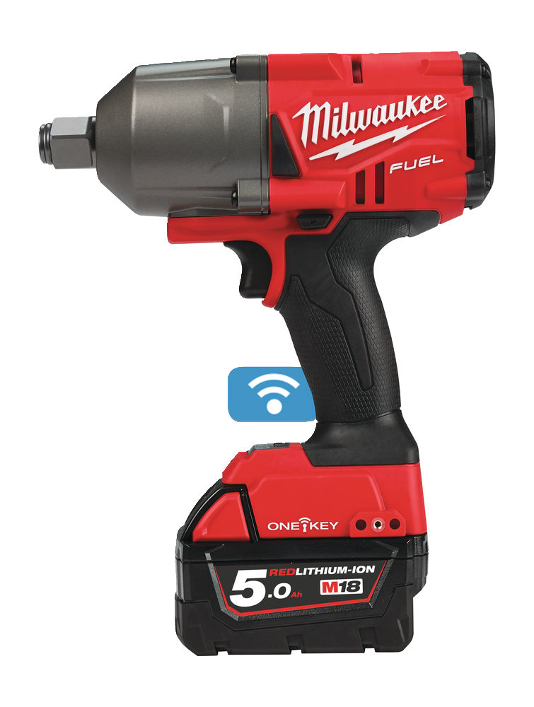 "Milwaukee M18 ONEFHIWF34-502X ¾"" Impact Wrench 18v 3.5Kg"