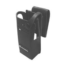"Motorola Hard Leather Case CC 2.5"" Swl Plain Atex DP Series"
