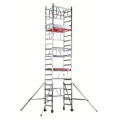 PopUp Mi-Tower Quick Assembly Access Tower Platform 2 - 4m 150Kg SWL