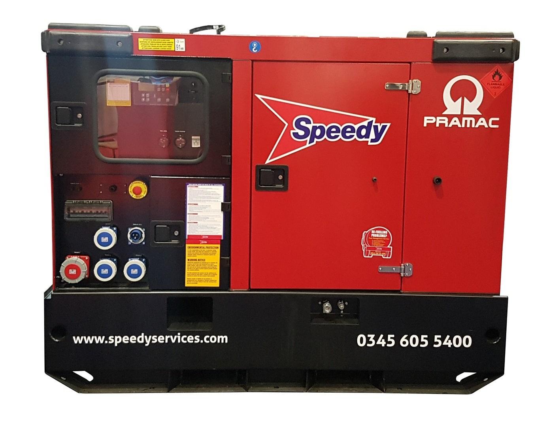 100 Kva Generator 415/3/50 Mwk50hr Rate
