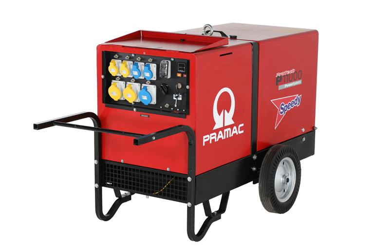 Pramac P11000 10kVA Super Silenced Generator Diesel 325Kg