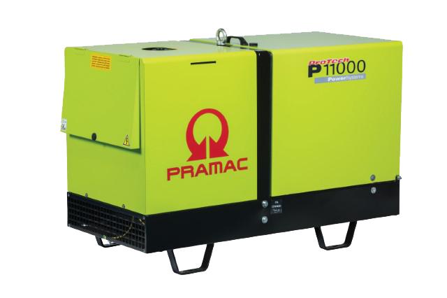 Pramac P11000 10kVA Super Silenced Generator Diesel
