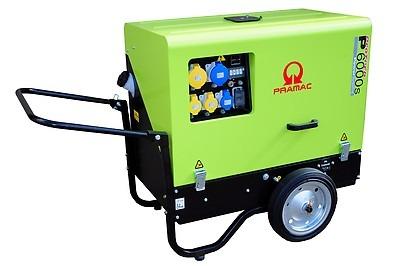 Pramac P6000S 6kVA Super Silenced Generator Diesel 203Kg