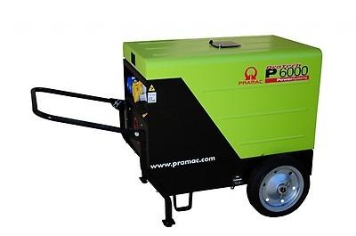 Pramac P6000 6kVA Silenced Generator Diesel 186Kg